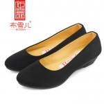 BX223-020 黑色 时尚女鞋 百搭鞋 工作鞋