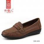 BX120-510  咖啡色 舒适休闲妈妈鞋