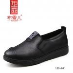 BX120-511 黑色 舒适中老年休闲女鞋