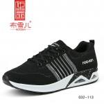 BX032-113 黑色 运动休闲舒适男鞋