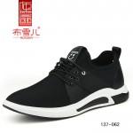 BX137-062 黑色 时尚休闲男布鞋