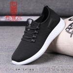 BX292-019 黑色 舒适休闲男鞋