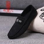 BX107-556 黑白 时尚休闲男士开车鞋
