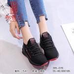 BX385-076 黑红 时尚运动休闲舒适女鞋