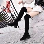 BX180-132 黑色 【二棉】时尚休闲女高靴