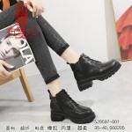 529597-001 黑色 时装休闲女马丁靴【超柔】